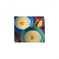 Velouté de céleri à la vanille et ses croûtons vanillés