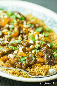 Xmas Food, Exotic Food, Couscous, Mediterranean Recipes, Chana Masala, Entrees, Food Porn, Food And Drink, Healthy Recipes
