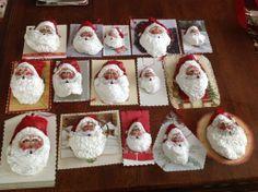 Oyster shell santa's 2013