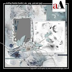 ArtPlay Palette Coolth Released 11 January 2019 #annaaspnes of #aA designs #annaaspnes #digitalart #digitalartist #digitalartistry #digitalcollage #collage #digitalphotography #photocollage #art #design #artjournaling #digital #digital #scrapbooking #digitalscrapbooking #scrapbook #modernart #memorykeeping #photoshop #photoshopelements
