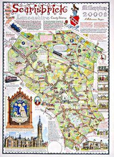 the Scarisbrick Millenium map