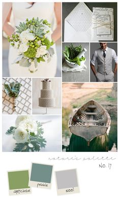 Bliss Wedding Blog and Magazine :: collections on love: Inspiration Boards No. 16 and No. 17