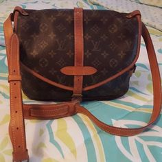samour 30 used, clean inside, dark patina Louis Vuitton Bags Crossbody Bags