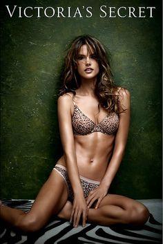 Alessandra Ambrosio ✾ for Victoria's Secret Advertising 2013 Promo
