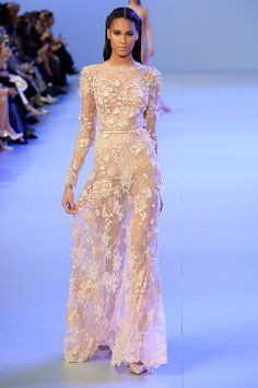 Elie Saab İlkbahar Yaz 2014 Haute Couture Koleksiyonu
