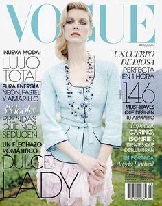 Vogue México March 2012 : Angela Lindvall by Jean Francois Campos
