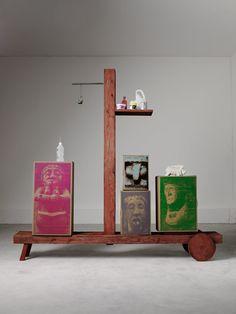 GL19, 2009  Collection Grandi Legni Edition Design Gallery Milano et Nilufar techniques mixtes Galerie Friedman Benda, New York