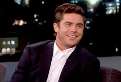 Zac Efron turns beet red while watching his 'You're a Good Man, Charlie Brown' school show - watch here!