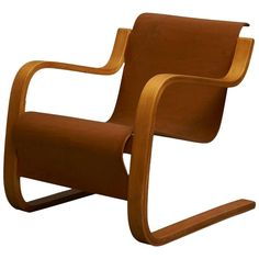 Alvar Aalto Cantilever Chair, Model 31  | From a unique collection of antique and modern armchairs at https://www.1stdibs.com/furniture/seating/armchairs/