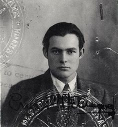 Dear lord, but Hemingway was a stud. Damn.