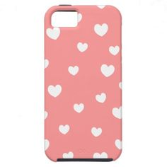 falling hearts iPhone case- choose your background iPhone 5 Case
