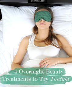 overnight beauty treatments