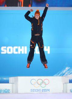 Ireen Wust, Goud op de 3000 meter op de Olympische Spelen in Sotsji 2014