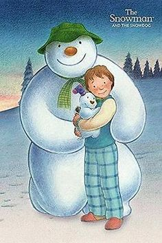 The Snowman and the Snowdog : Trio - Maxi Poster 61cm x 91.5cm (new & sealed)