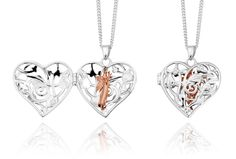 Fairy Locket | Pendants and necklaces | Clogau  Available to buy at www.silvertreejewellery.co.uk