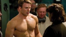 Chris Evans's Captain America workout | Men's Fitness UK Captain America Skinny, X Men, Fanfiction, Iron Man, Joss Whedon, Rob Liefeld, Growth Hormone, Geek Stuff, Comic Books
