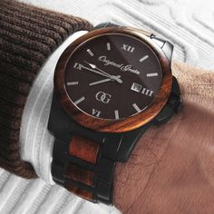 Treat yourself good with this Handcrafted Wood + Steel timepiece. Free Shipping Worldwide! #StayOriginal
