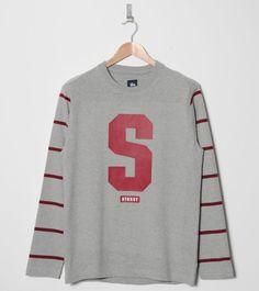 Stussy Princeton Stripe Long Sleeve T-Shirt