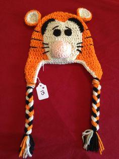 Tigger Crochet Hat www.facebook.com/EmmyJaneCreations