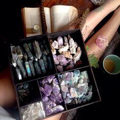 magia com cristais