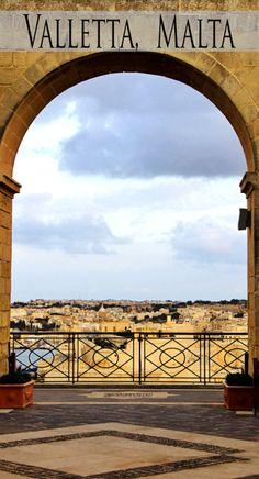 Visiting beautiful Valletta, Malta