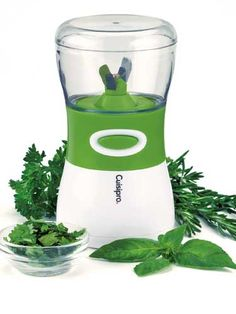 Everyone loves the flavor of fresh herbs, and Cuisipro's Cordless Herb Chopper ($38) makes it easy to add plenty to your dishes
