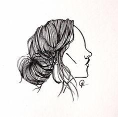 Bunhead hair