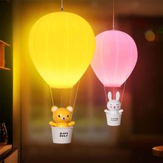 Room Lights, Tea Lights, Air Balloon, Balloons, Lantern Tea Light Holders, Cute Night Lights, Cute Kawaii Animals, Gamer Room, Gift Of Time