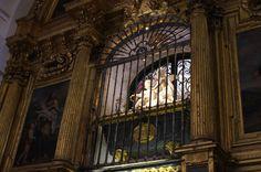 Tomb of St. Teresa of Avila. Alba de Tormes, Spain.
