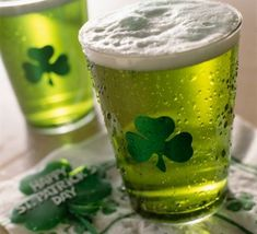 Nothing says delicious like a GREEN Beer! Spend your Saint Paddy's Day with PubCrawls.com!!!