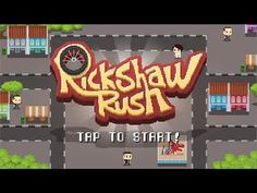 Rickshaw Rush - Free On Android & iOS - Gameplay Trailer
