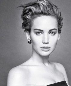 Jennifer Lawrence pixie cut tips