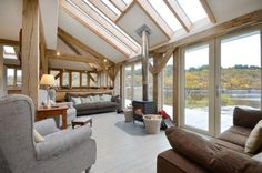Scottish waterside home by Roderick James Architects.