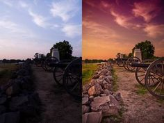 How to add dramatic colors to a photo.  Done in Camera RAW but same in LR