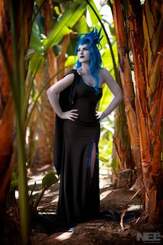 Lady Hades from Disney's Hercules. Photo taken at WonderCon 2015 by NelsPhotos