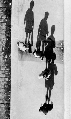 """André Kertész – Shadows - 1931  """"The moment always dictates in my work. What I feel, I do. This is the most important thing for me. Everybody can look, but they don't necessarily see. I never calculate or consider; I see a situation and I know that it's right, even if I have to go back to get the proper lighting."""" – André Kertész  http://en.wikipedia.org/wiki/Andr%C3%A9_Kert%C3%A9sz"""
