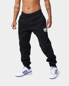 Culture Kings, Adidas Fashion, Colour Black, Spin, Black Pants, Elastic Waist, Cuffs, Bring It On, Sweatpants