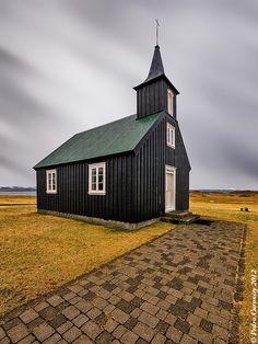 Islandia. Church. by Pedro Curonisy Pellegero on 500px