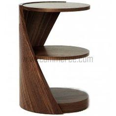 Rosewood Round Shelf