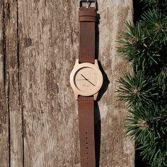 Bear Wooden Watch (45mm)