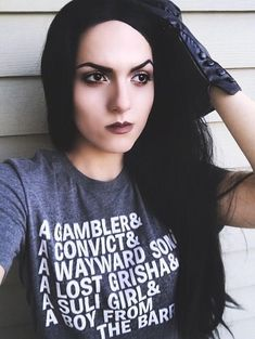 The Misfits -  Six of Crows T Shirt - Crooked Kingdom -  Leigh Bardugo - Kaz Brekker - Inej