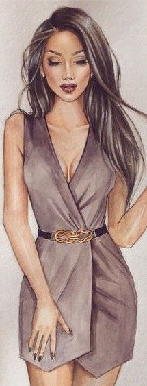 Irina Pirogova Fashion Illustration