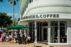 Starbucks coffee su Lincoln Road, Miami Beach