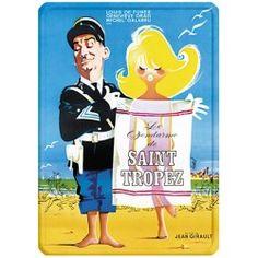Affiche de film - Le gendarme de Saint-Tropez