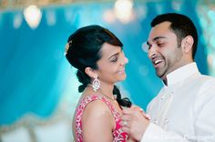 indian wedding reception bride groom portraits http://maharaniweddings.com/gallery/photo/12237