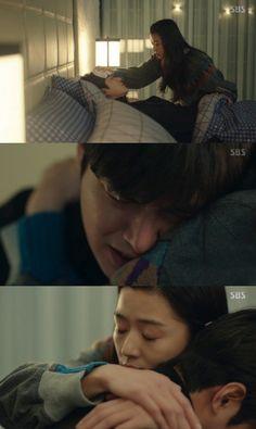 "[Spoiler] ""The Legend of the Blue Sea"" Lee Min-ho kisses Jeon Ji-hyeon @ HanCinema :: The Korean Movie and Drama Database"