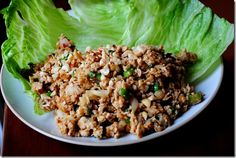 Homemade PF Changs lettuce wraps....omg amazing. Could make these twice a week.