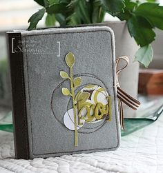 Love this cover with a felt cover!