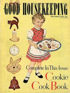 Vintage Good Housekeeping Magazine # vendimia vendimia