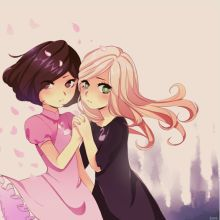 Sophie and Agatha from the School for Good and Evil